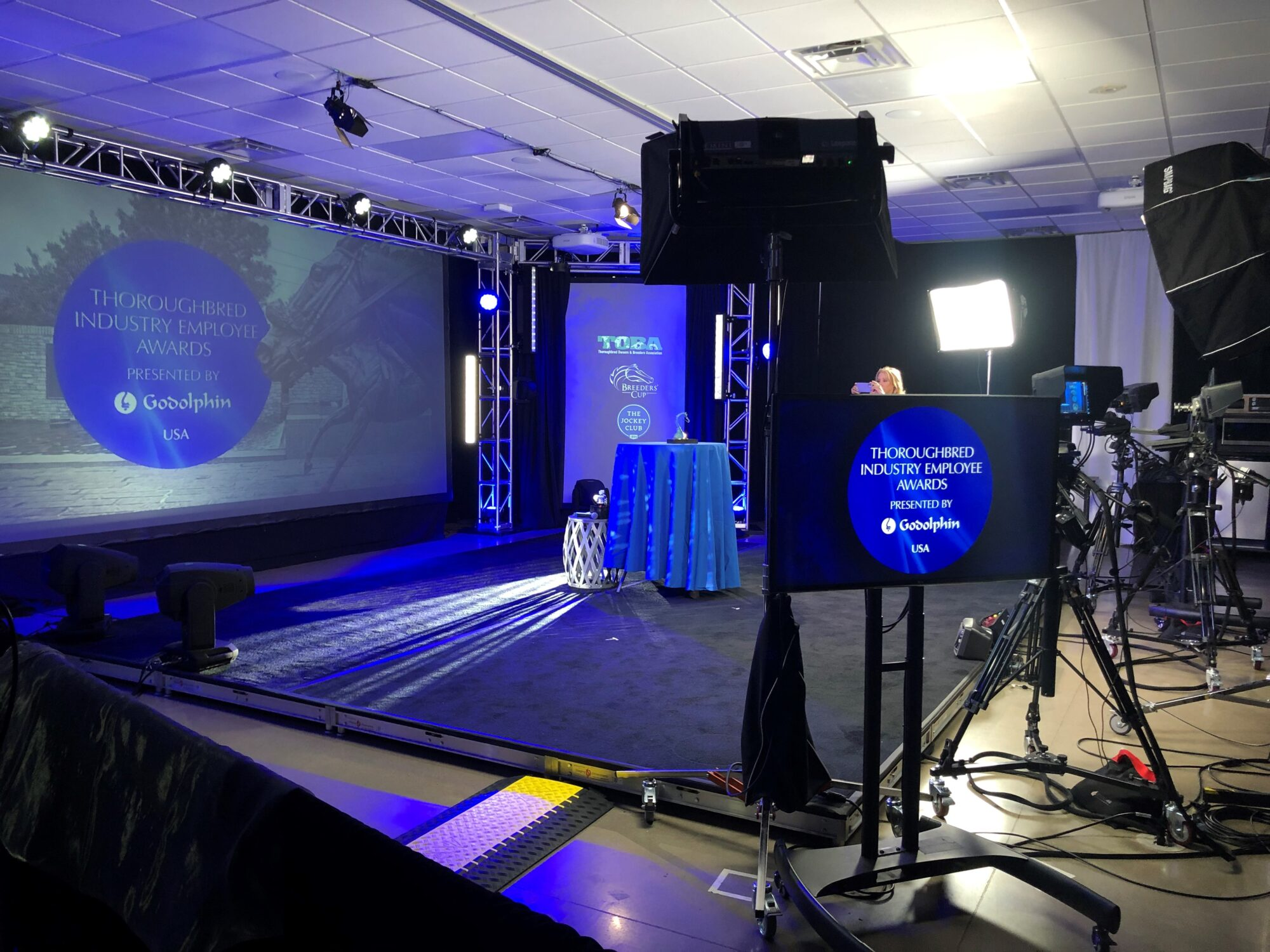 Studio46 Media partners with Godolphin & 2020 TIEA Award Ceremony